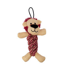 Zeus Mojo Naturals Rope Twisterz - Lion & Rhino - Assorted - 17 cm (6.75 in)
