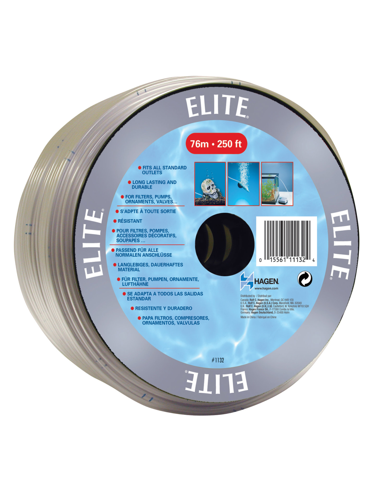 Marina PVC Clear AirlineTubing - By the foot