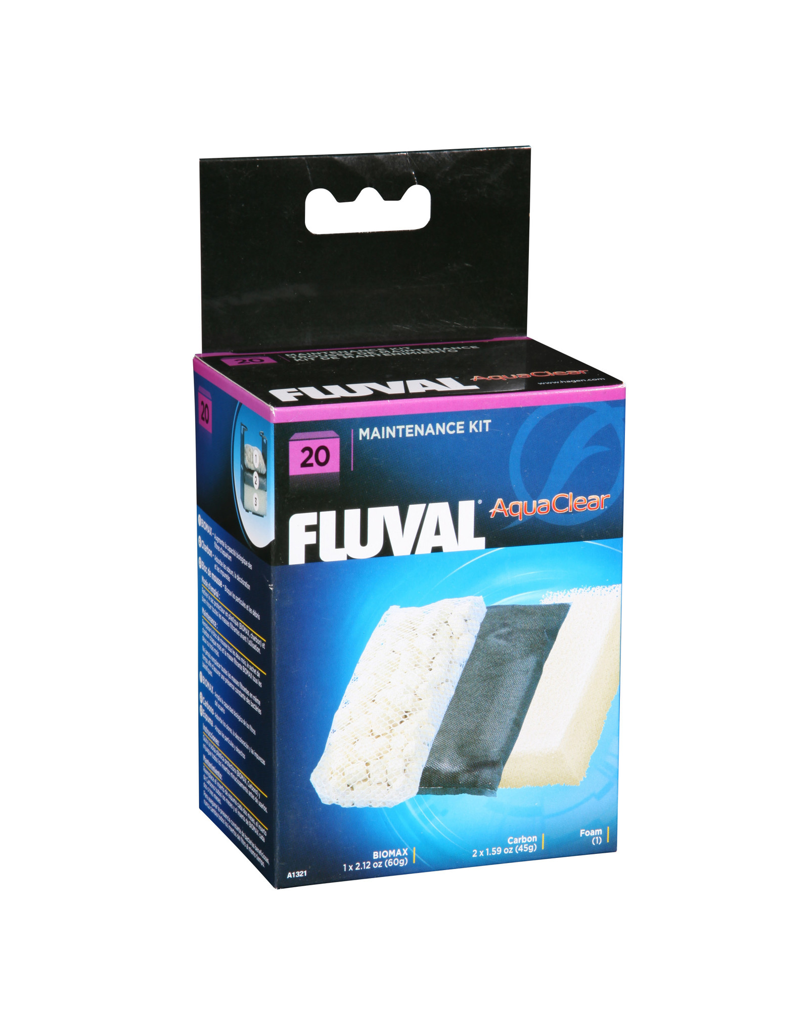Fluval Fuval /Aquaclear 20 Filter Media Maintenance Kit