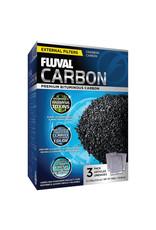 Fluval Fluval Carbon - 3 x 100 g (3.5 oz) nylon bags