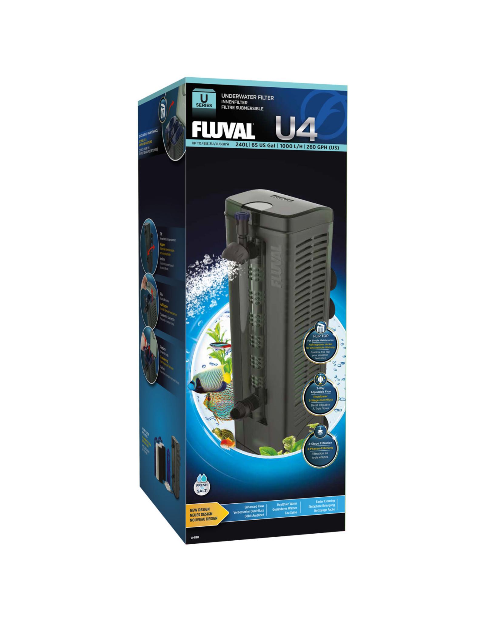 Fluval Fluval U4 Underwater Filter - 240 L (65 US Gal)