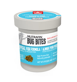 Nutrafin Bug Bites Tropical - Small-Medium - 0.7-1.0mm - Granules for Tetras/ Rasboras/ Danios