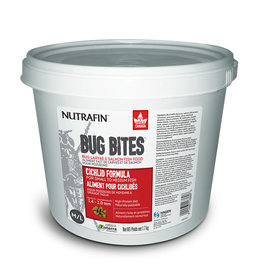 Nutrafin Bug Bites Cichlid Formula Medium to Large Fish - 1.4-2.0mm granules 1.7 kg (3.7lbs)
