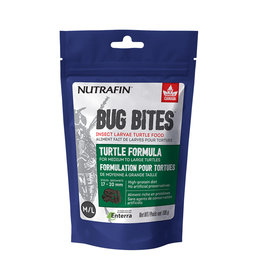 Nutrafin Bug Bites Turtle Formula - Medium to Large Turtles - 17-20mm 100g (3.5oz)