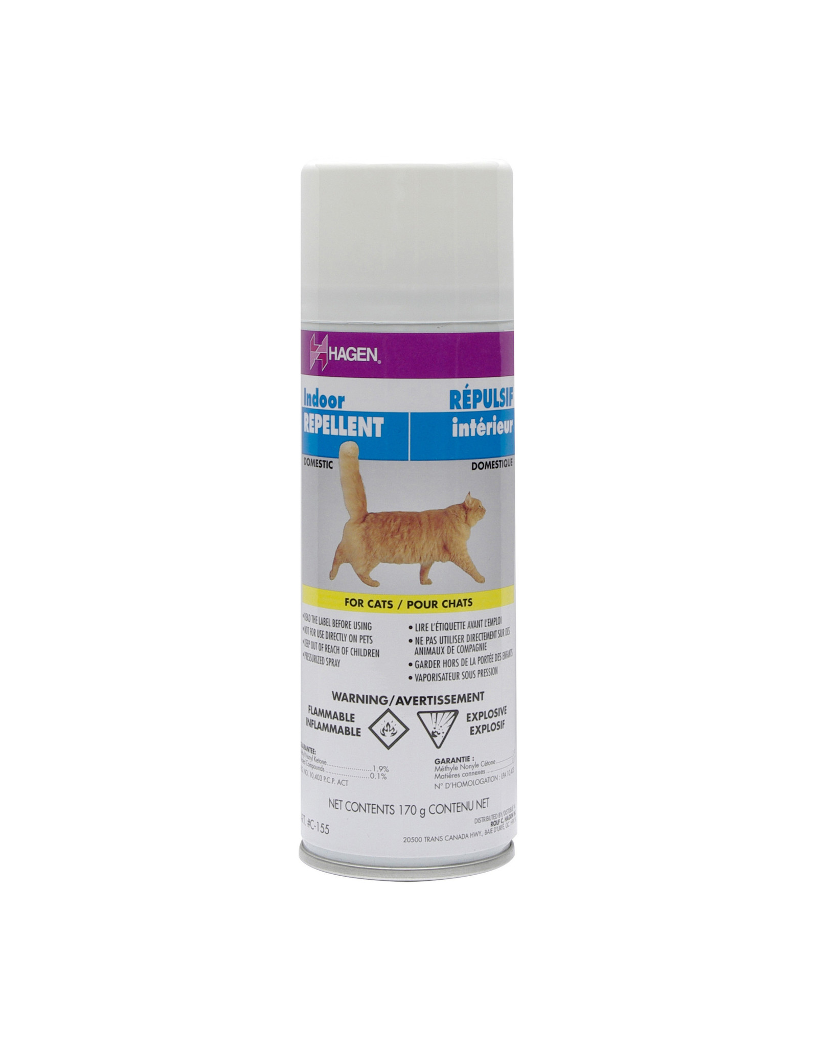 Hagen Hagen Aerosol Indoor Cat Repellent - 170g