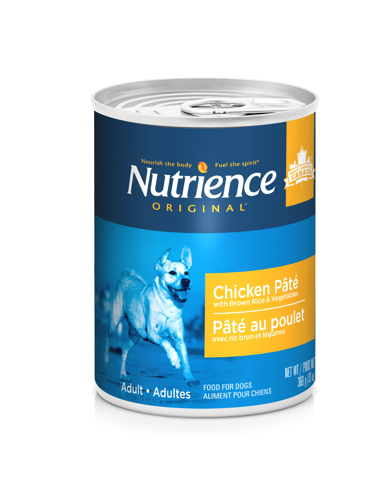 Nutrience Nutrience Original Chicken Pate with Brown Rice & Vegetables - 369g