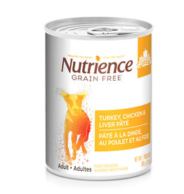 Nutrience Nutrience Grain Free Turkey, Chicken & Liver Pate - 369g