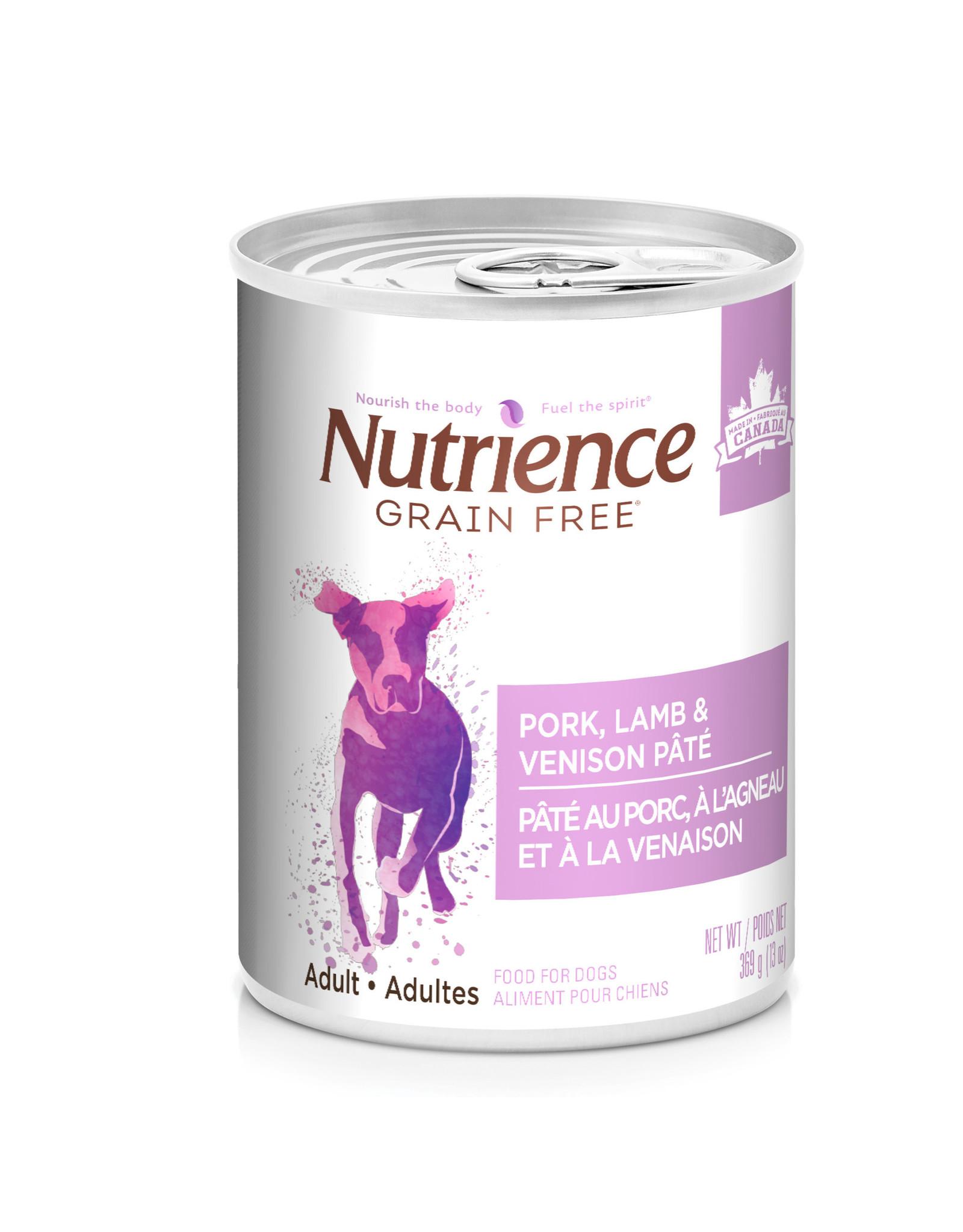 Nutrience Nutrience Grain Free Pork, Lamb & Venison Pate - 369g