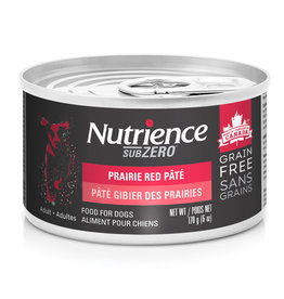Nutrience Nutrience SubZero Pate Prairie Red - 170g