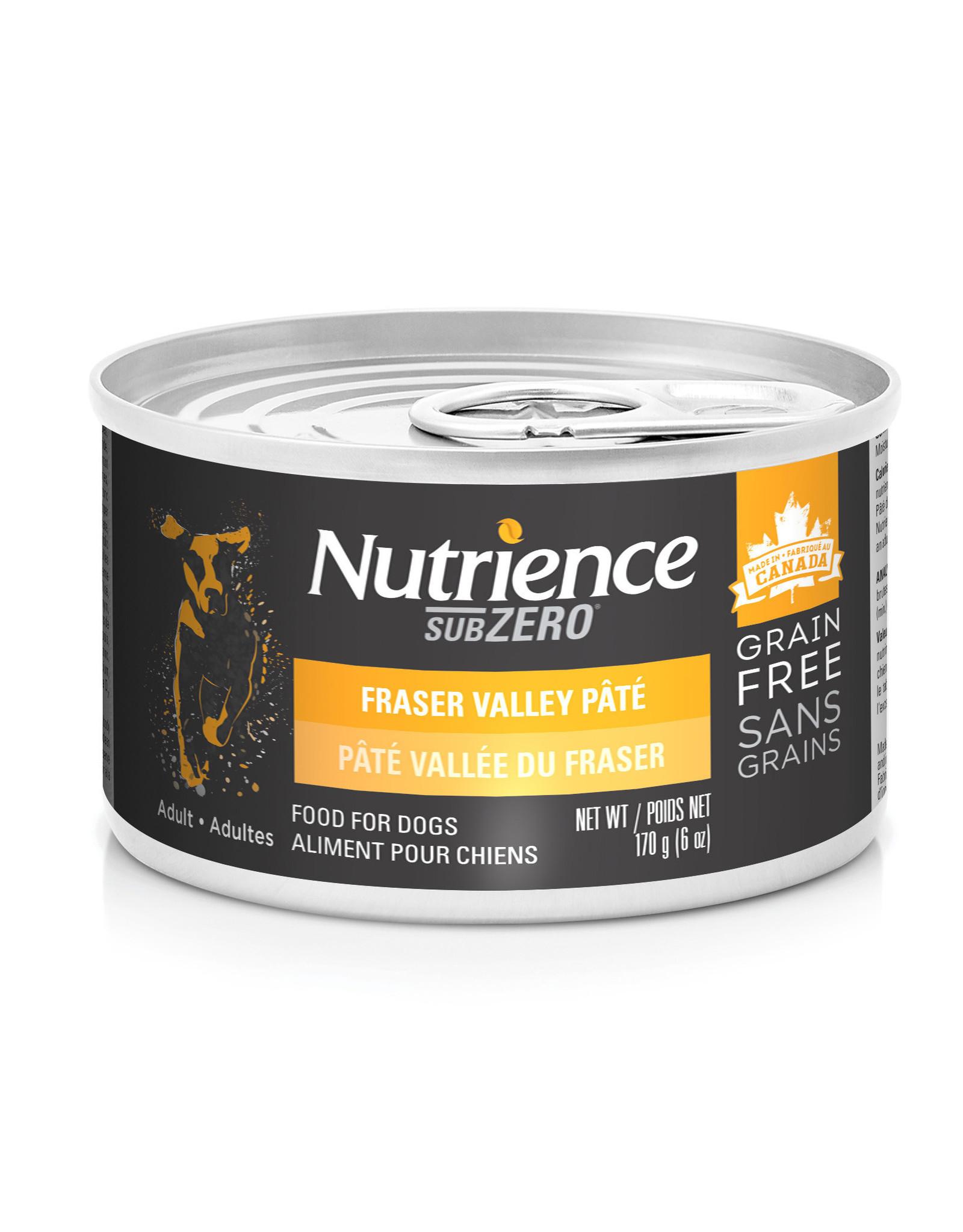 Nutrience Nutrience SubZero Pate Fraser Valley - 170g