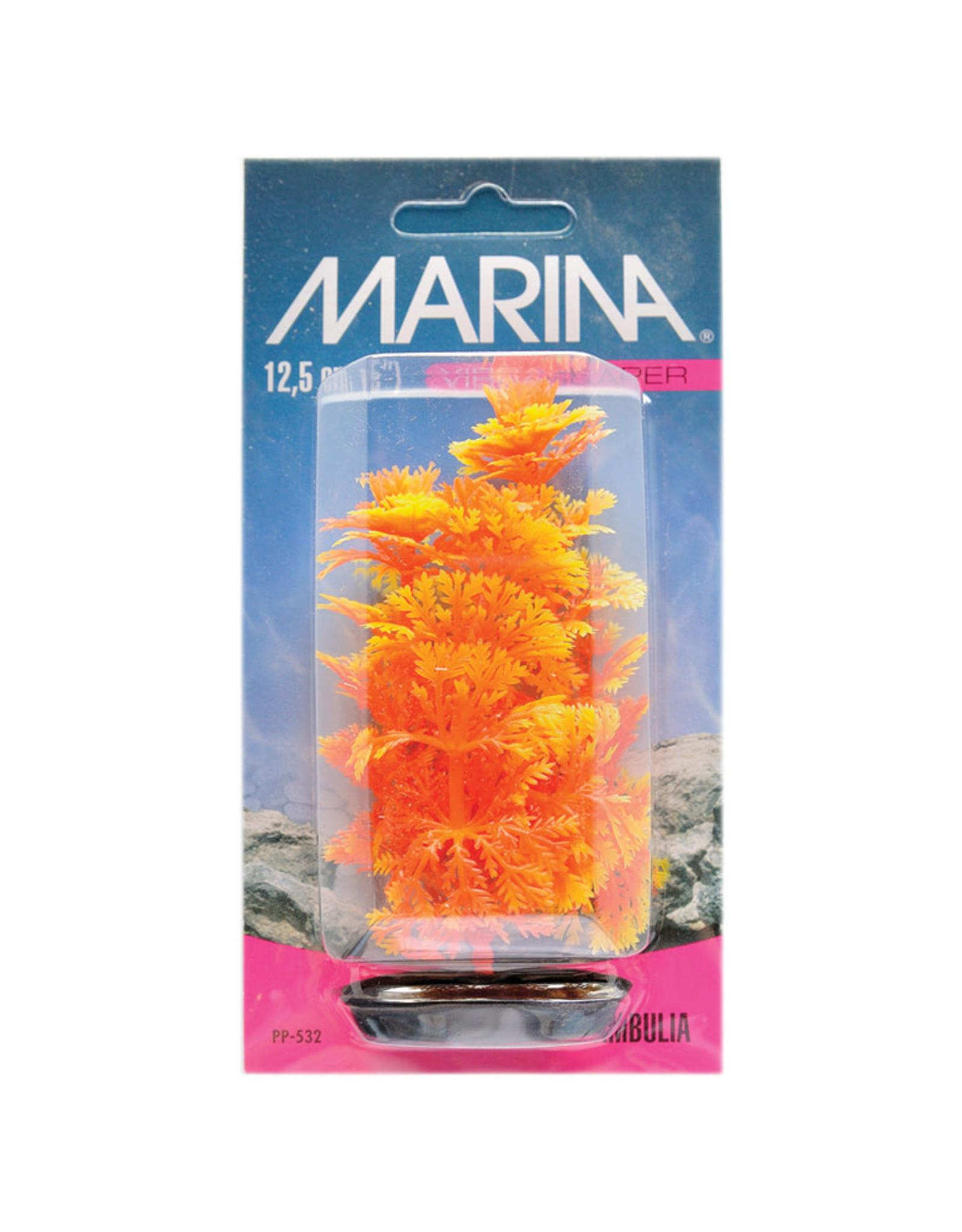 Marina Marina Vibrascaper Plastic Plant - Ambulia Orange-Yellow - 12.5 cm (5 in)