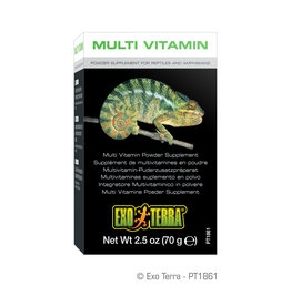 Exo Terra Multi Vitamin Powder Supplement 70g
