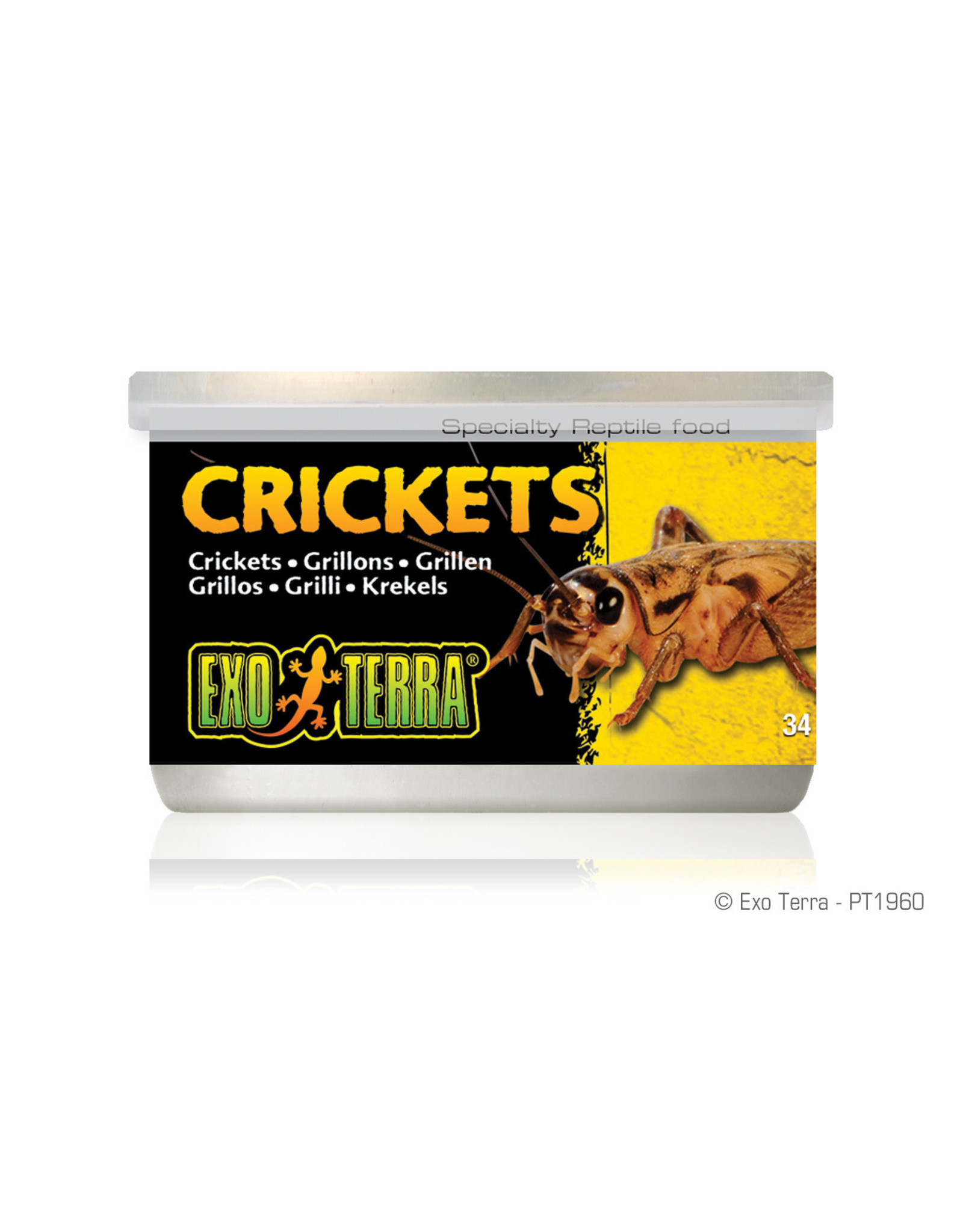 Exo Terra Canned Crickets 34g