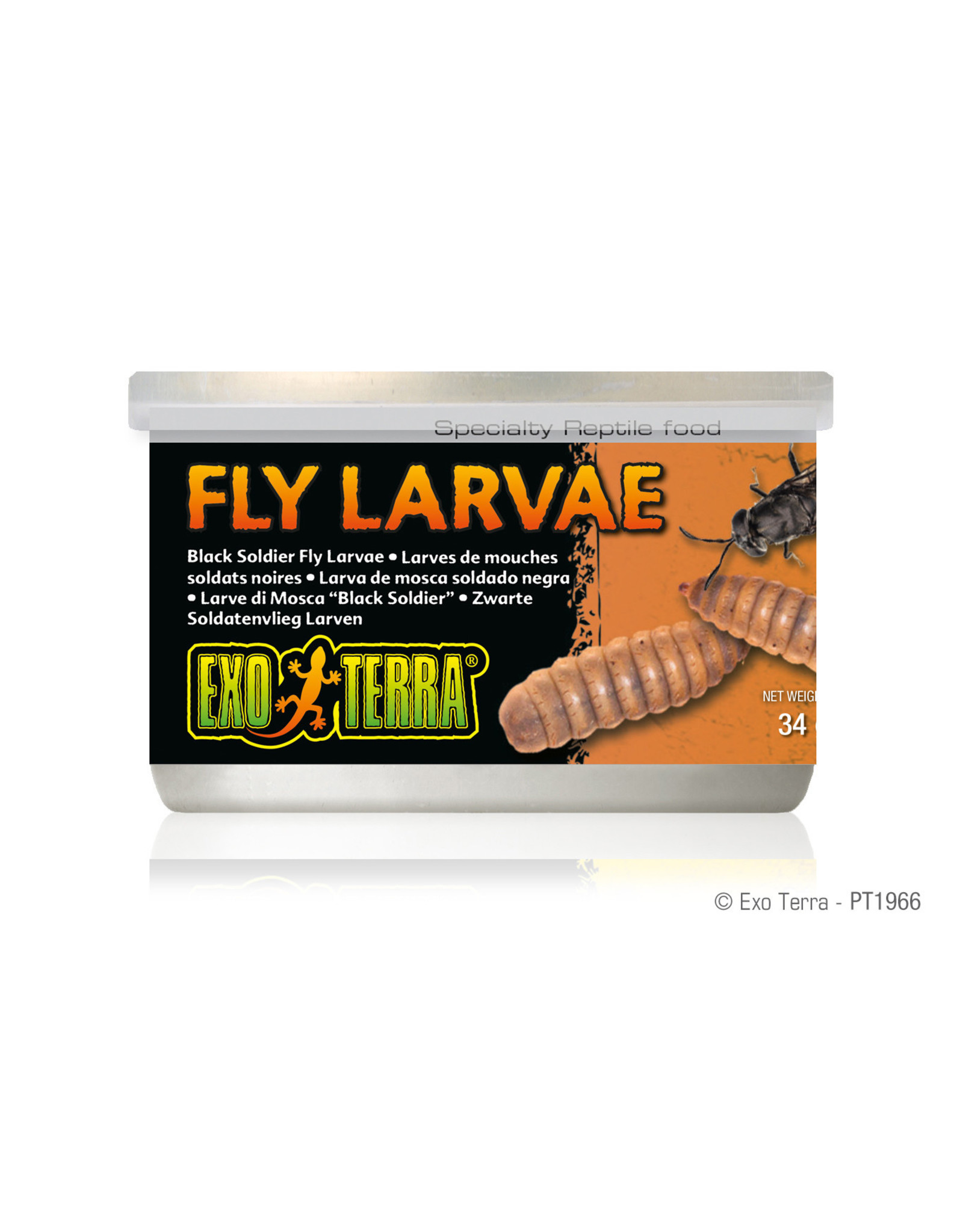 Exo Terra Black Soldier Fly Larvae Canned Food 34g