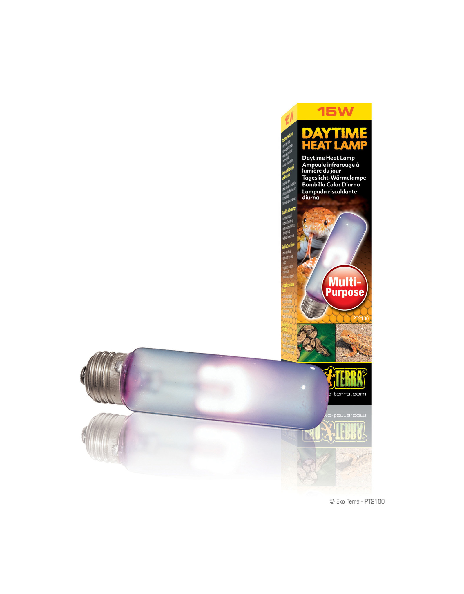 Exo Terra Daytime Heat Lamp T10/15W