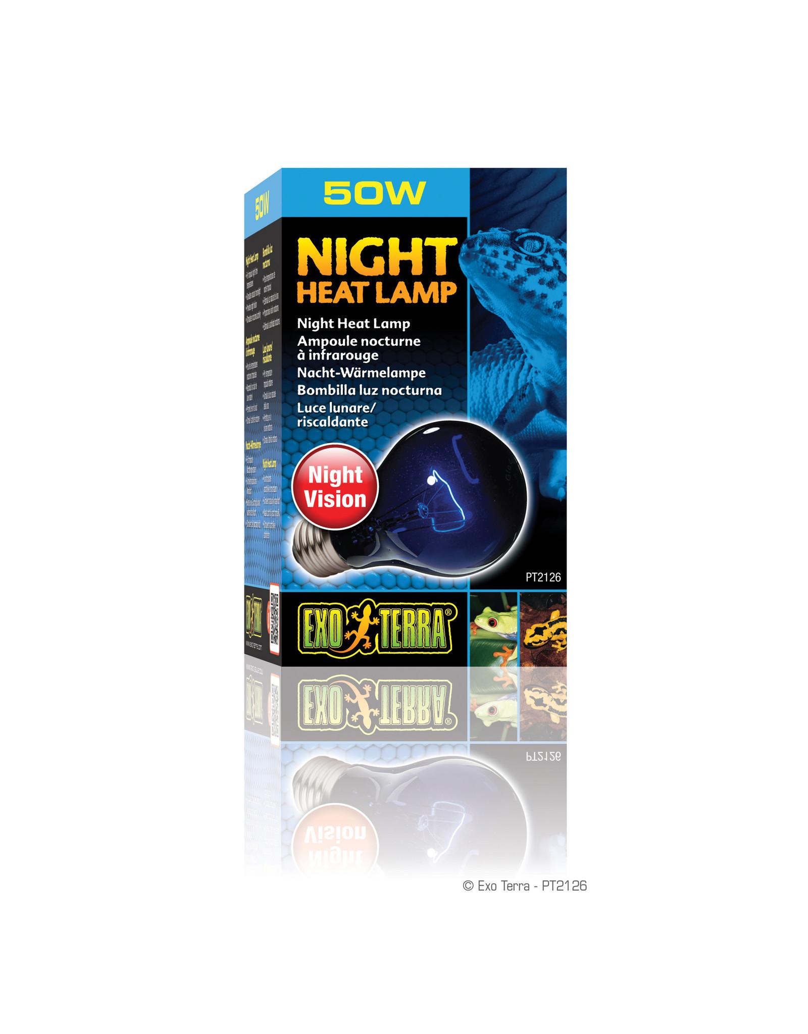 Exo Terra Night Heat Lamp - A19 / 50W