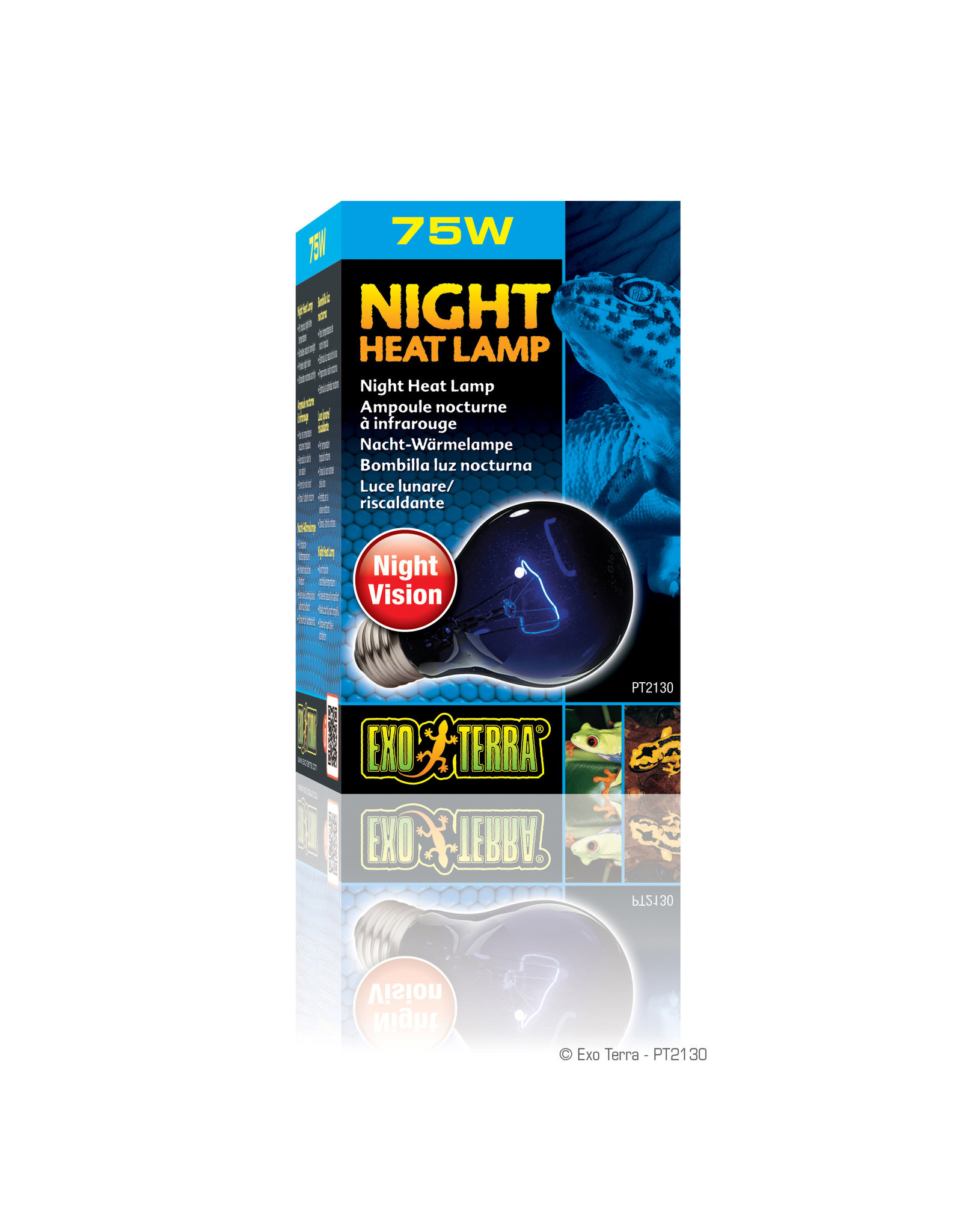 Exo Terra Night Heat Lamp - A19 / 75W