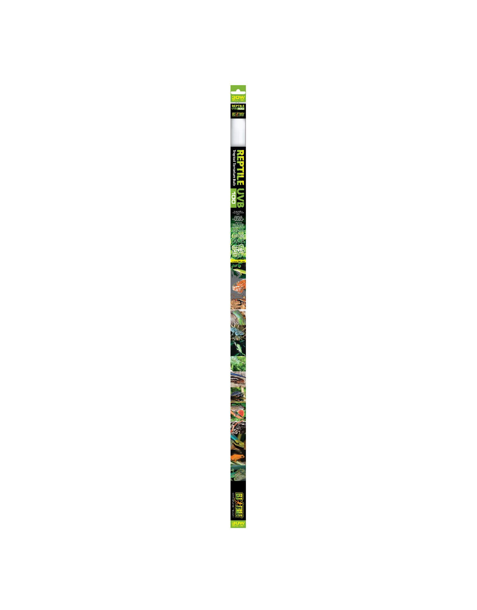 Exo Terra Reptile UVB100 Tropical Terrarium Linear Bulb - 30 W