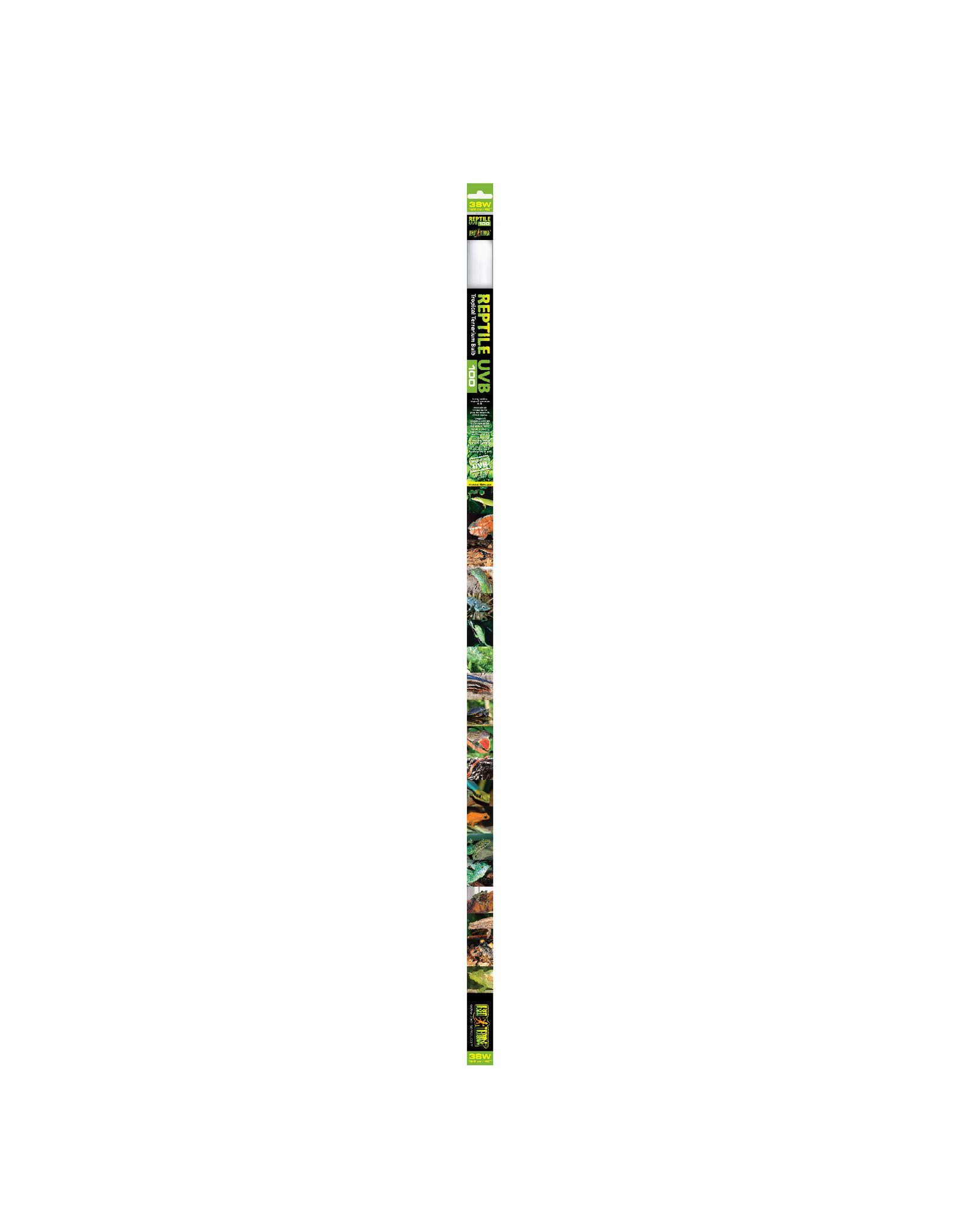 Exo Terra Reptile UVB100 Tropical Terrarium Linear Bulb - 38 W