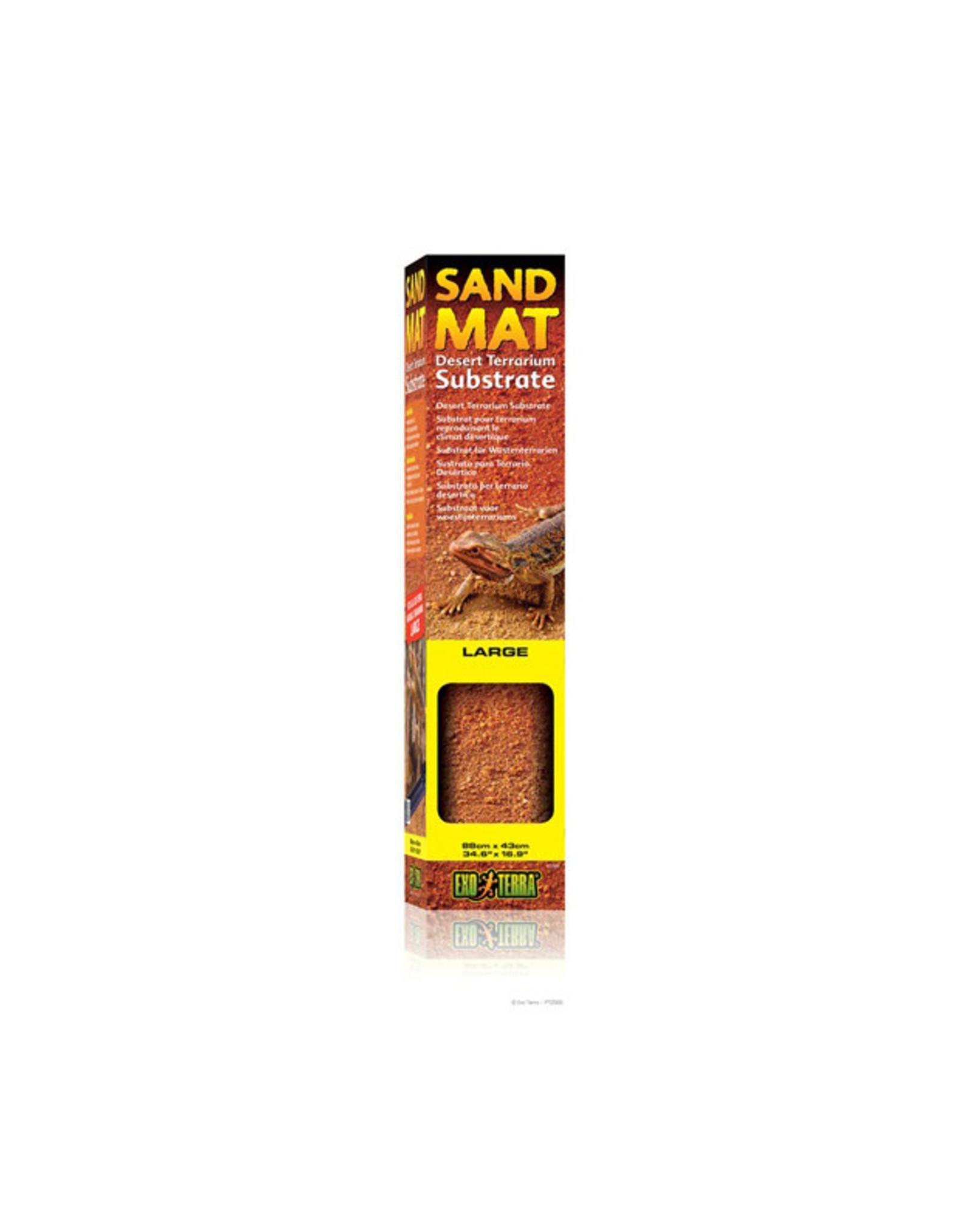"Exo Terra Sand Mat Large - Desert Terrarium Substrate - 88 cm x 43 cm (24"" x 16"")"