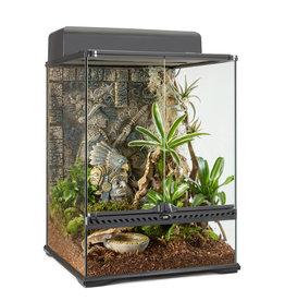 "Exo Terra Aztec Glass Terrarium Small Tall 45x45x60cm (18x18x24"")"