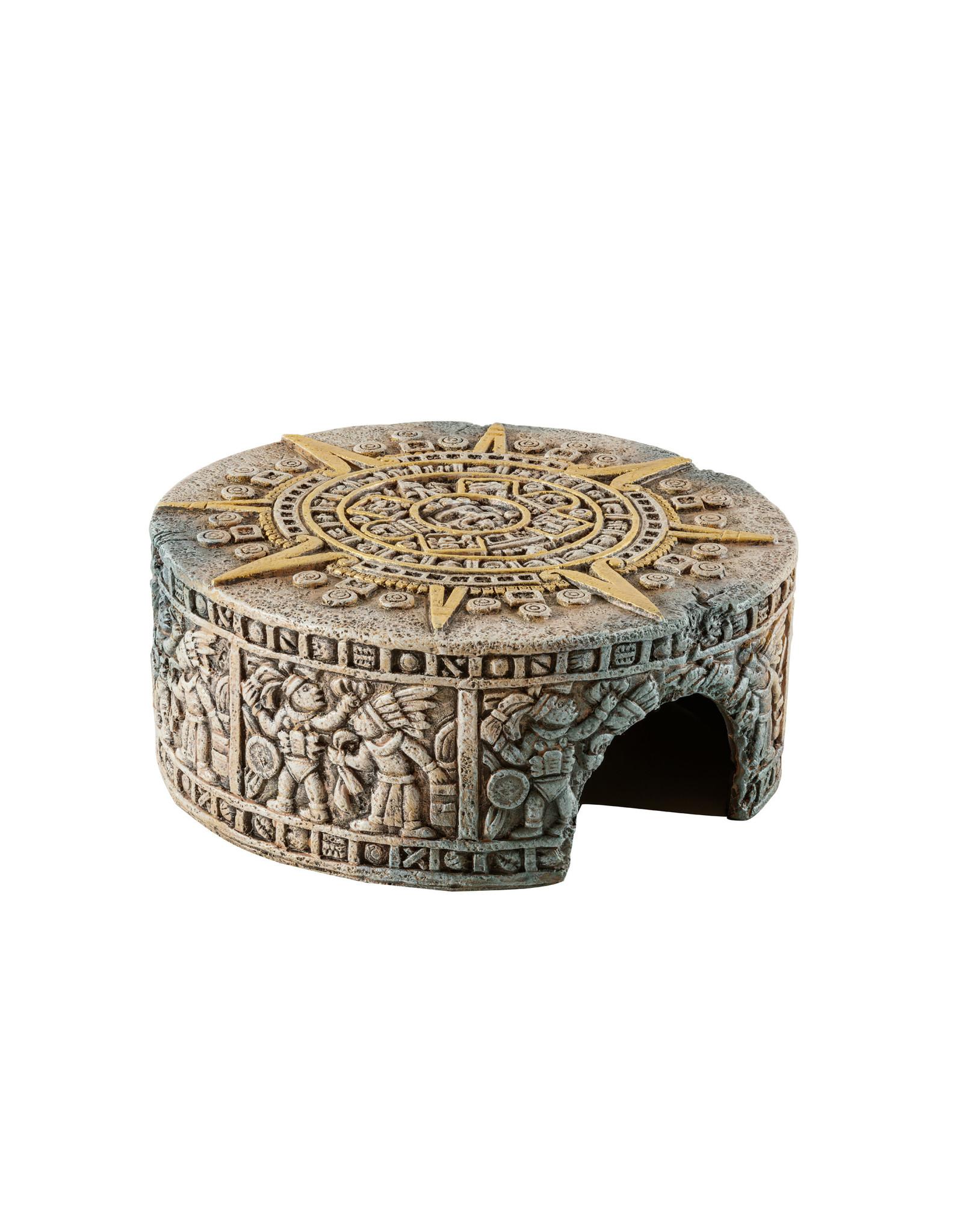 Exo Terra Aztec Calendar Stone Hide-Out S