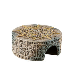 Exo Terra Aztec Calendar Stone Hide-Out Small
