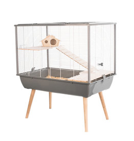 Zolux Neo Silta Cage 78x48x58cm Grey