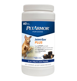 PetArmor Joint-Eze Plus Health Tabs for Dogs, 60 soft chews