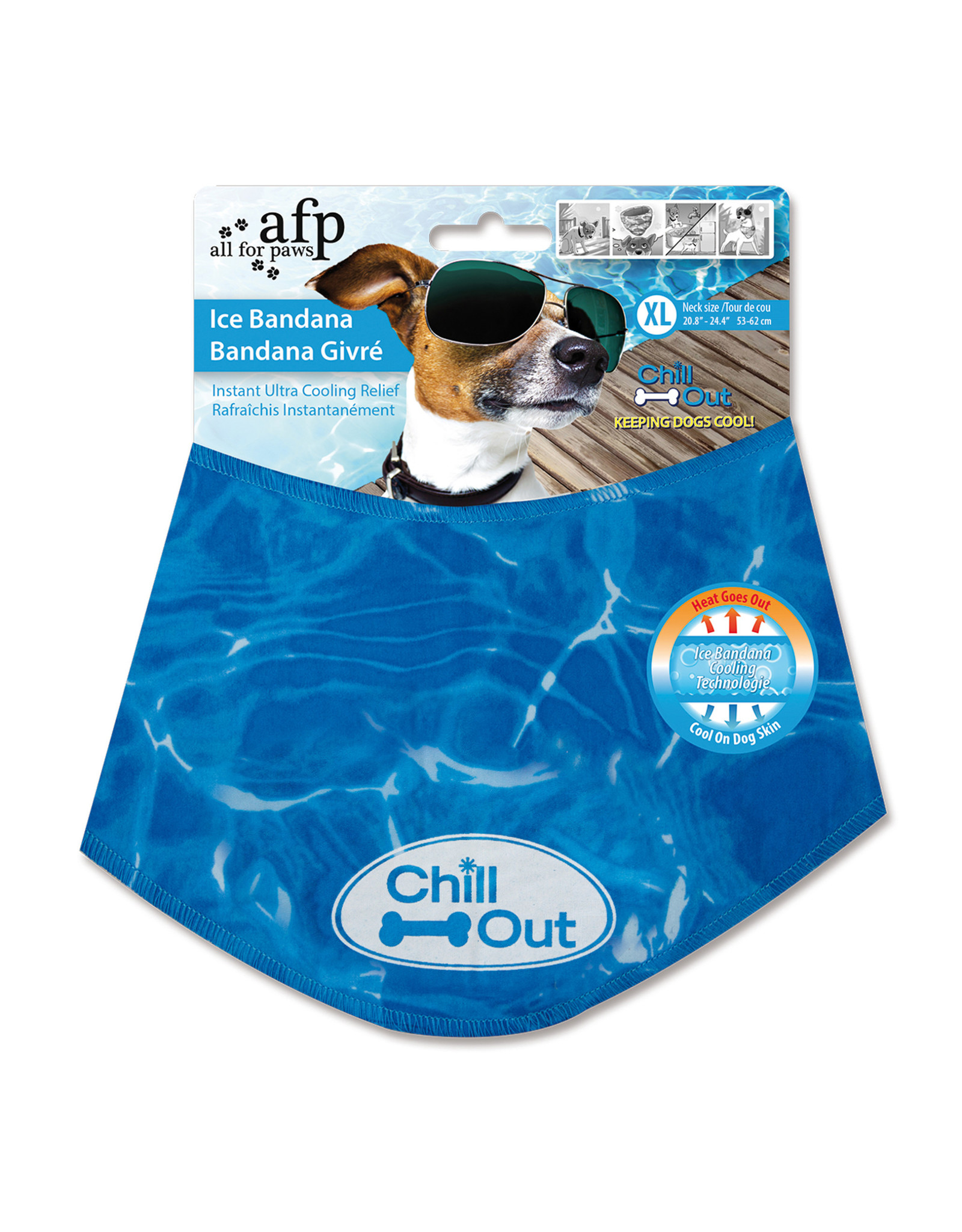All for Paws Chill Out Ice Bandana X-Large