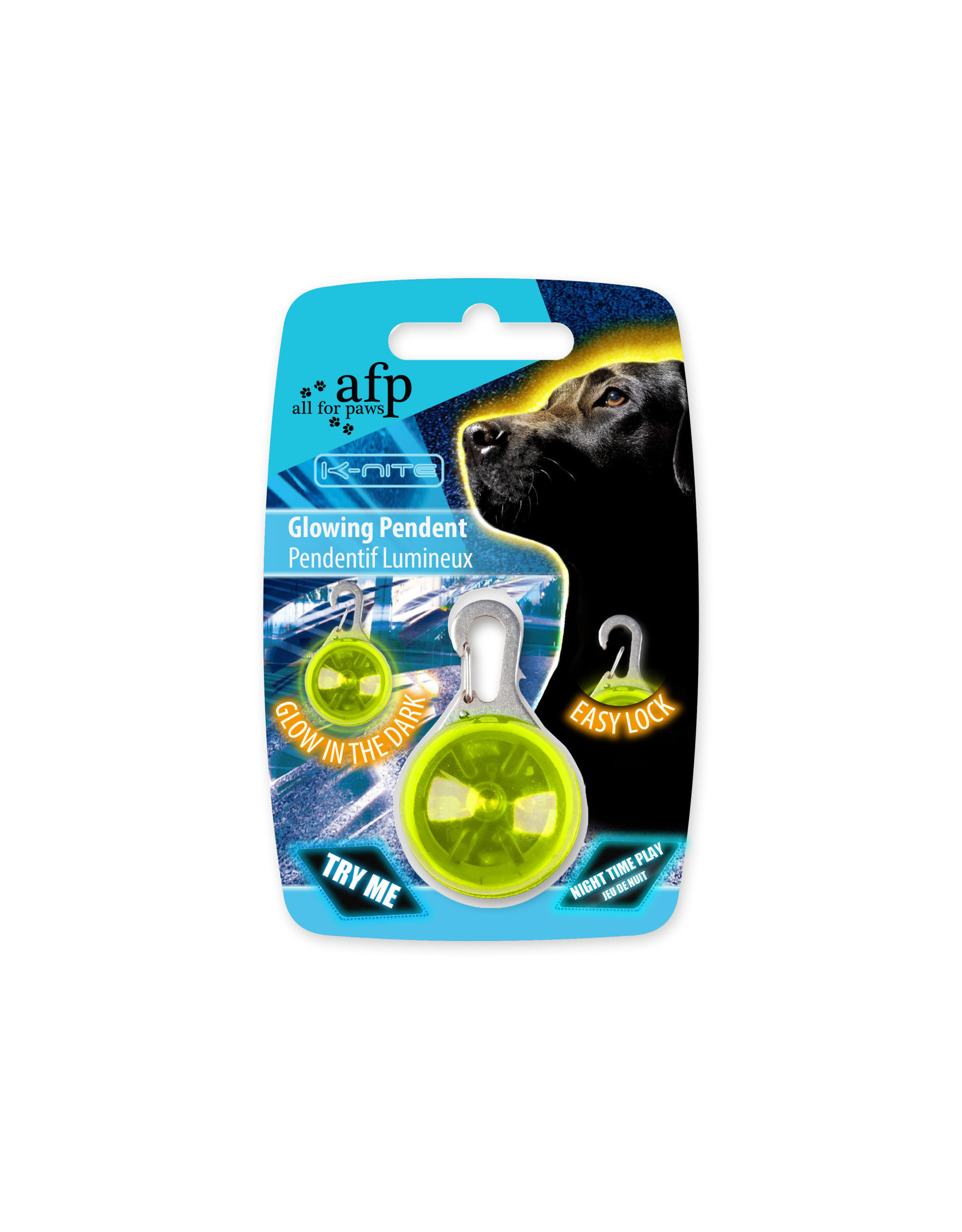 All for Paws K-Nite LED Glowing Pendent