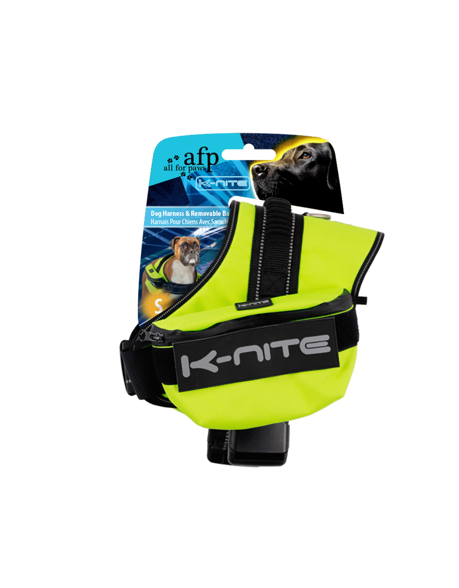 All for Paws K-Nite Dog Dog Harness/Backpack S