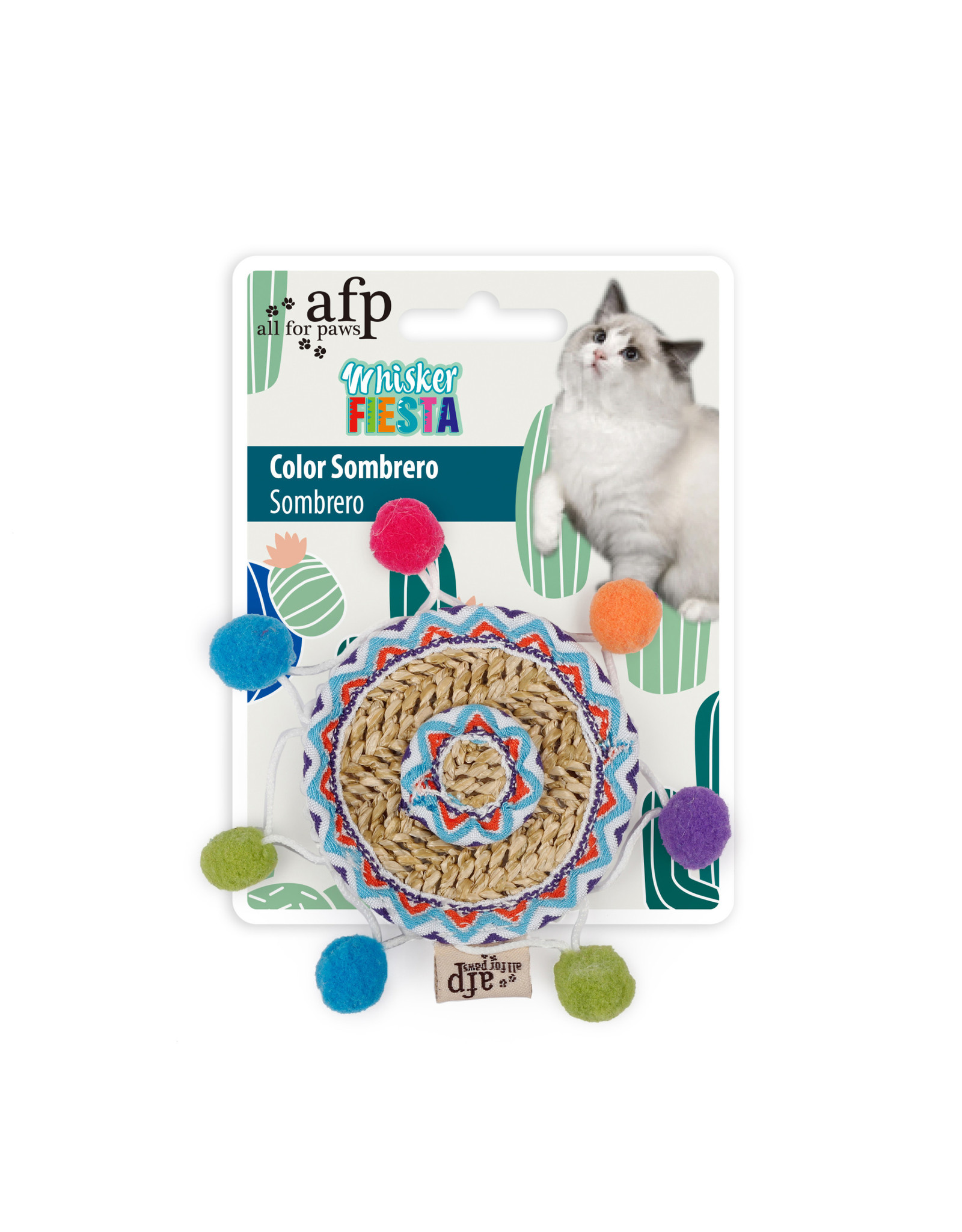 All for Paws Whisker Fiesta Colour Sombrero