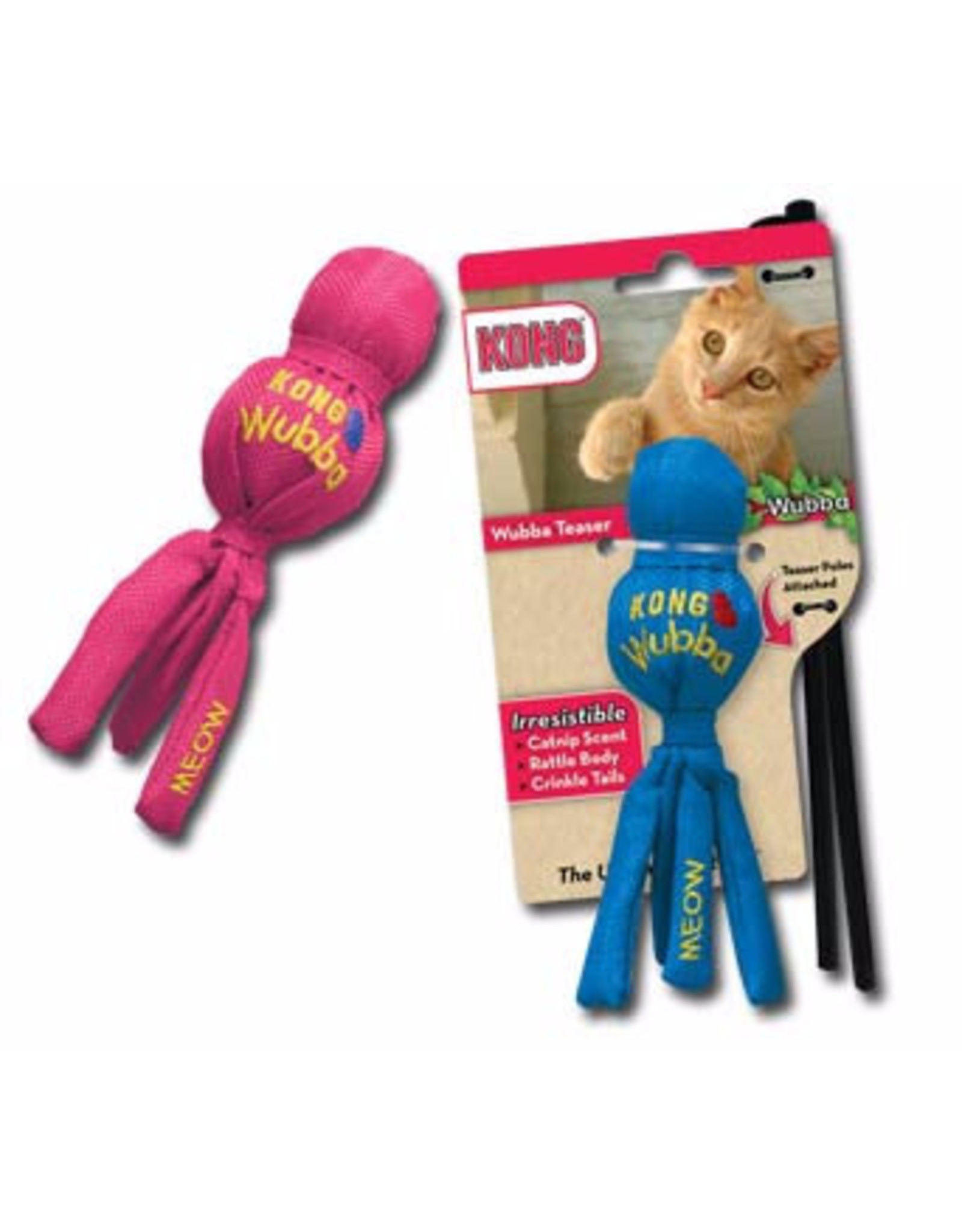 Kong Kong Wubba for Cats - Mouse