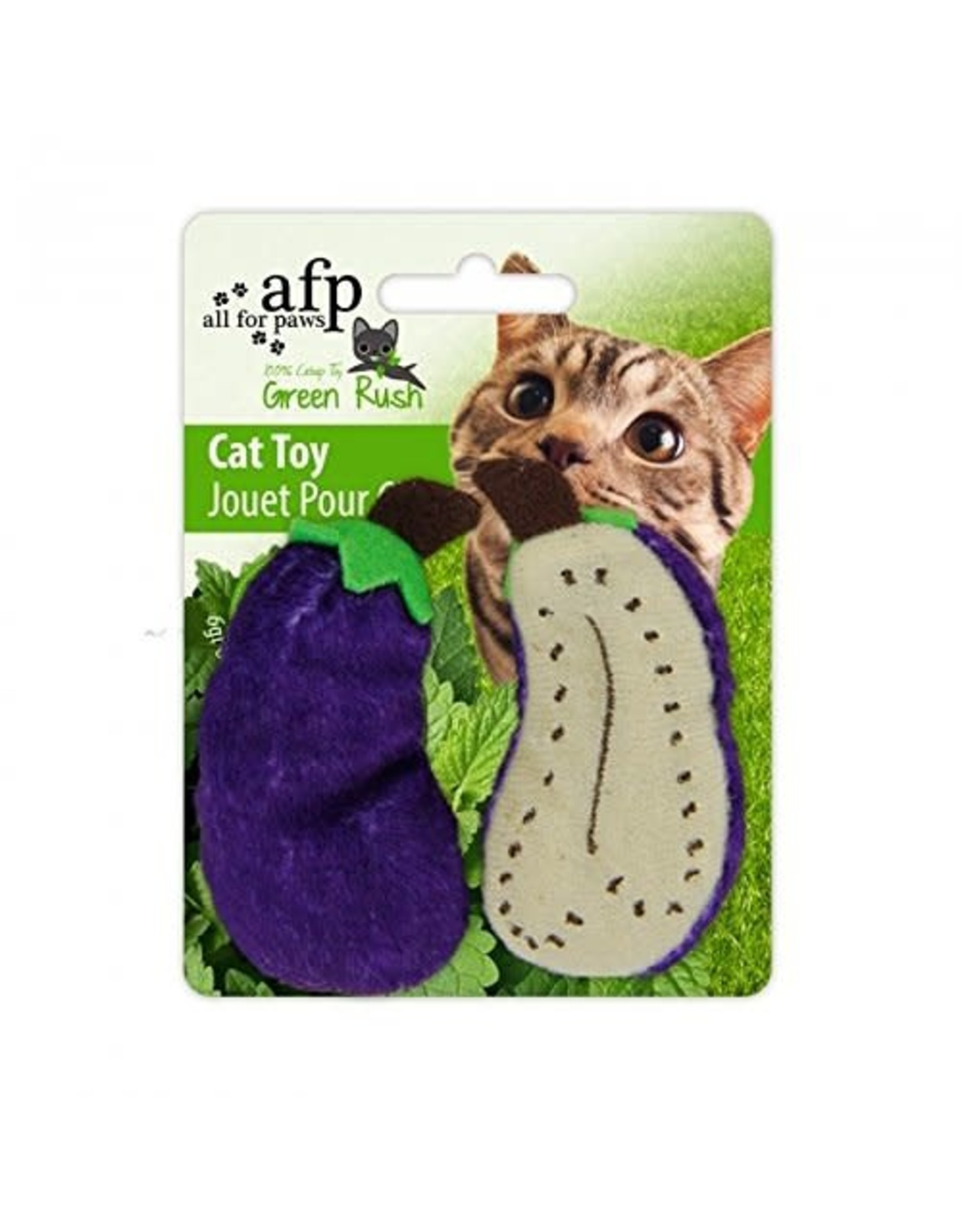 All for Paws Green Rush All Natural Eggplant/Carrot/Peas 2 Pack Assorted