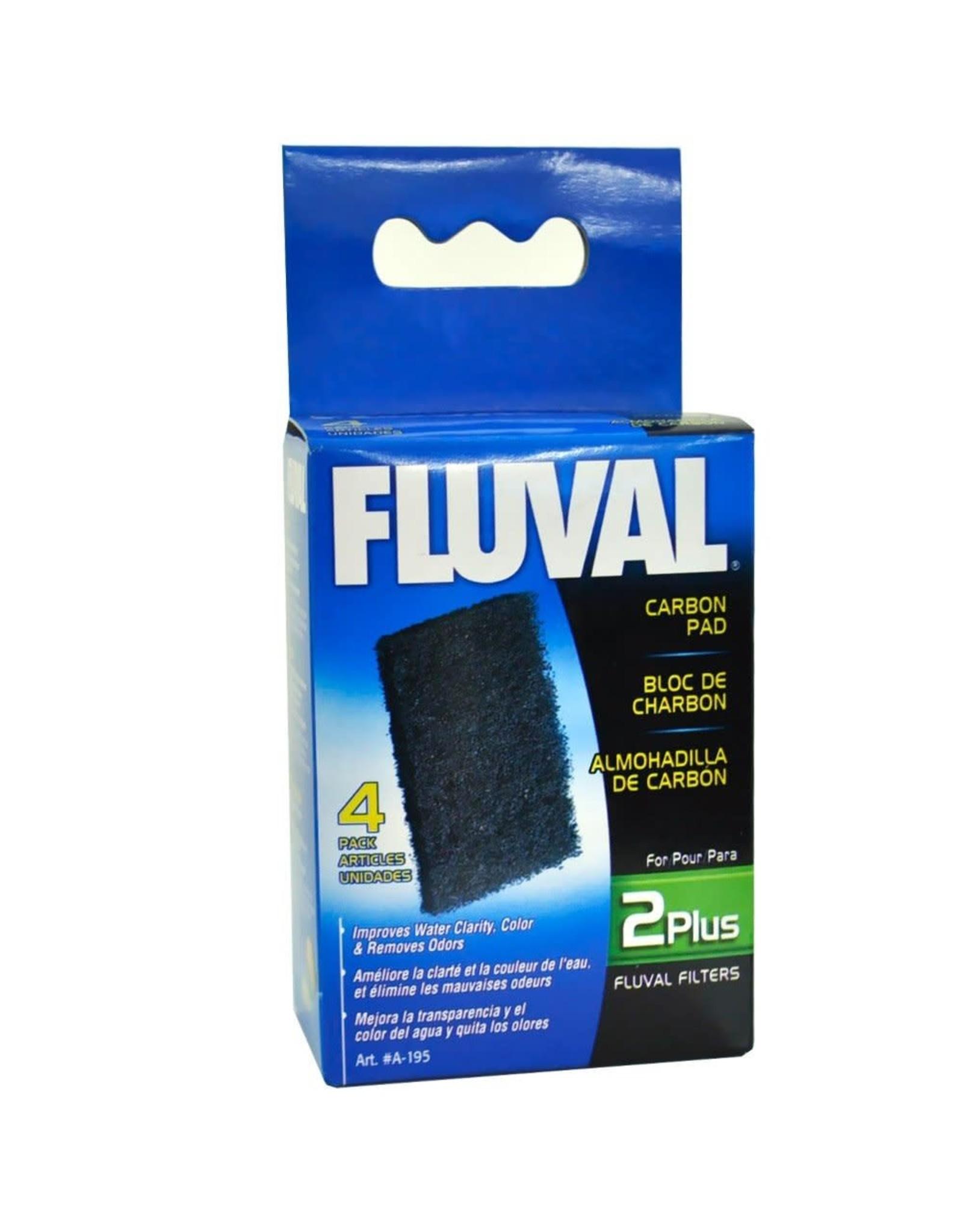 Fluval Fluval 2 Plus Special Carbon Pads - 4 pack