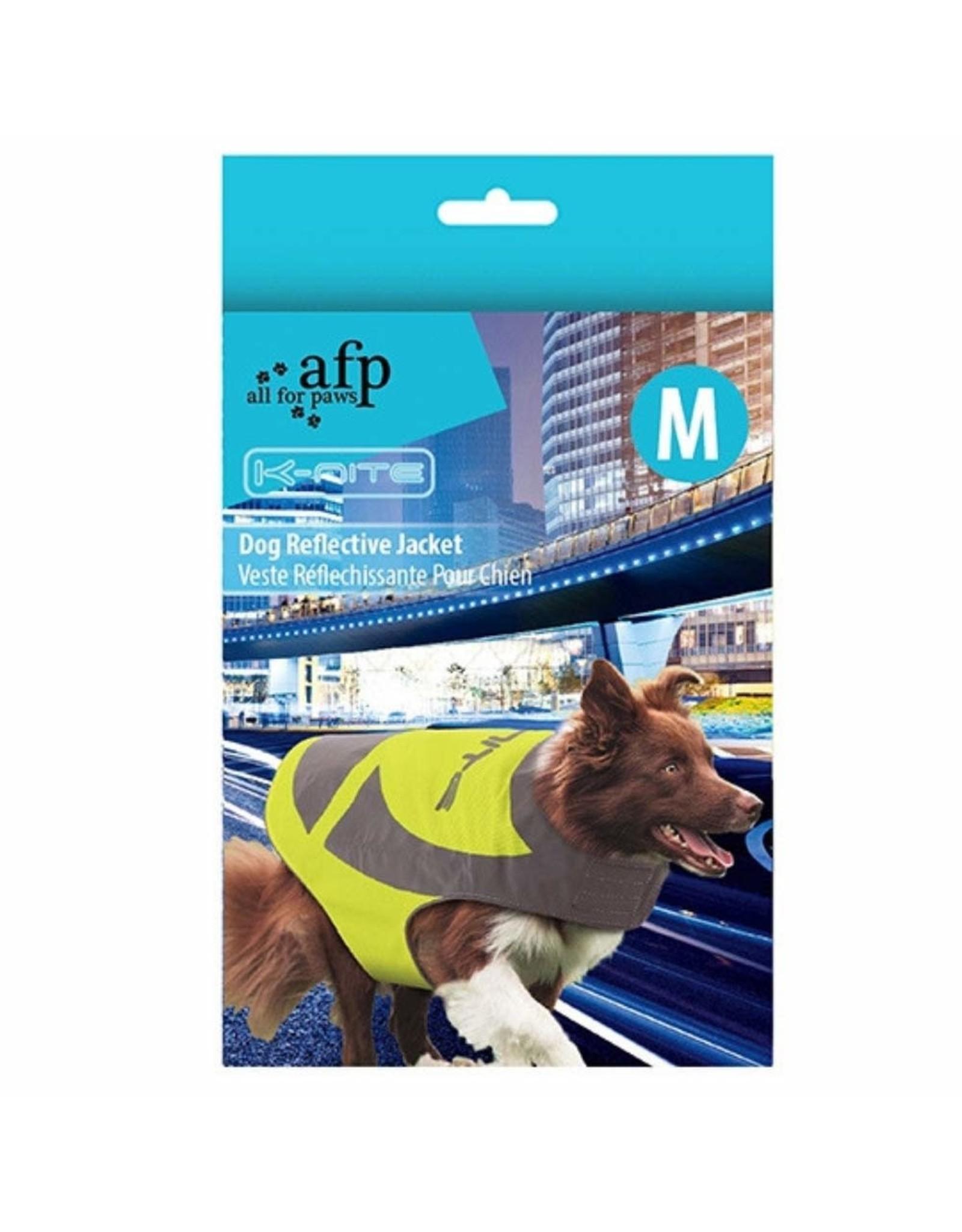 All for Paws K-Nite Dog Reflective Jacket Medium