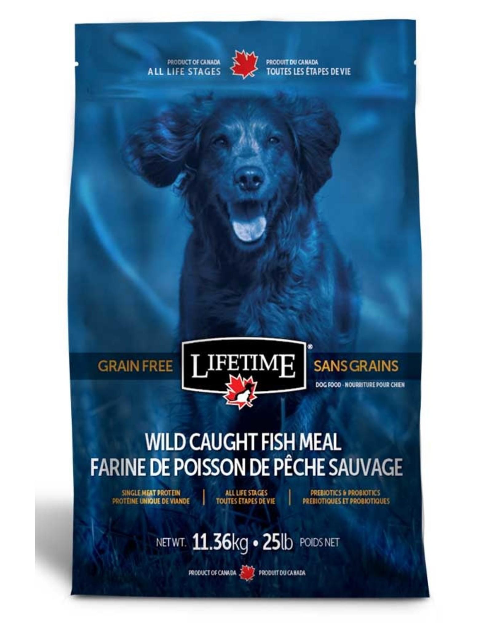 Lifetime Lifetime Wild Caught Fish Grain Free 11.36kg