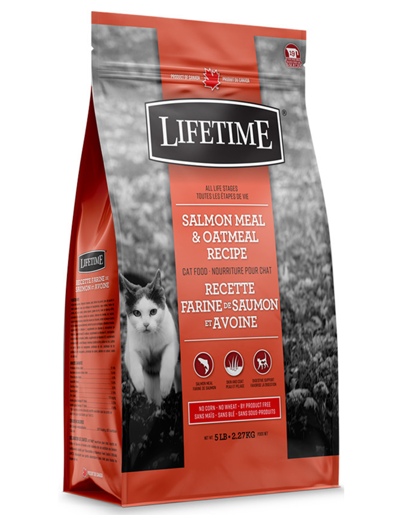 Lifetime Lifetime Salmon & Oatmeal Cat 2.27kg