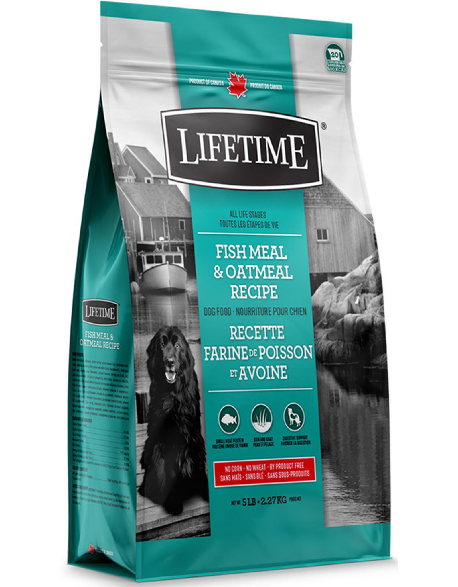 Lifetime Lifetime Fish & Oatmeal 2.27kg