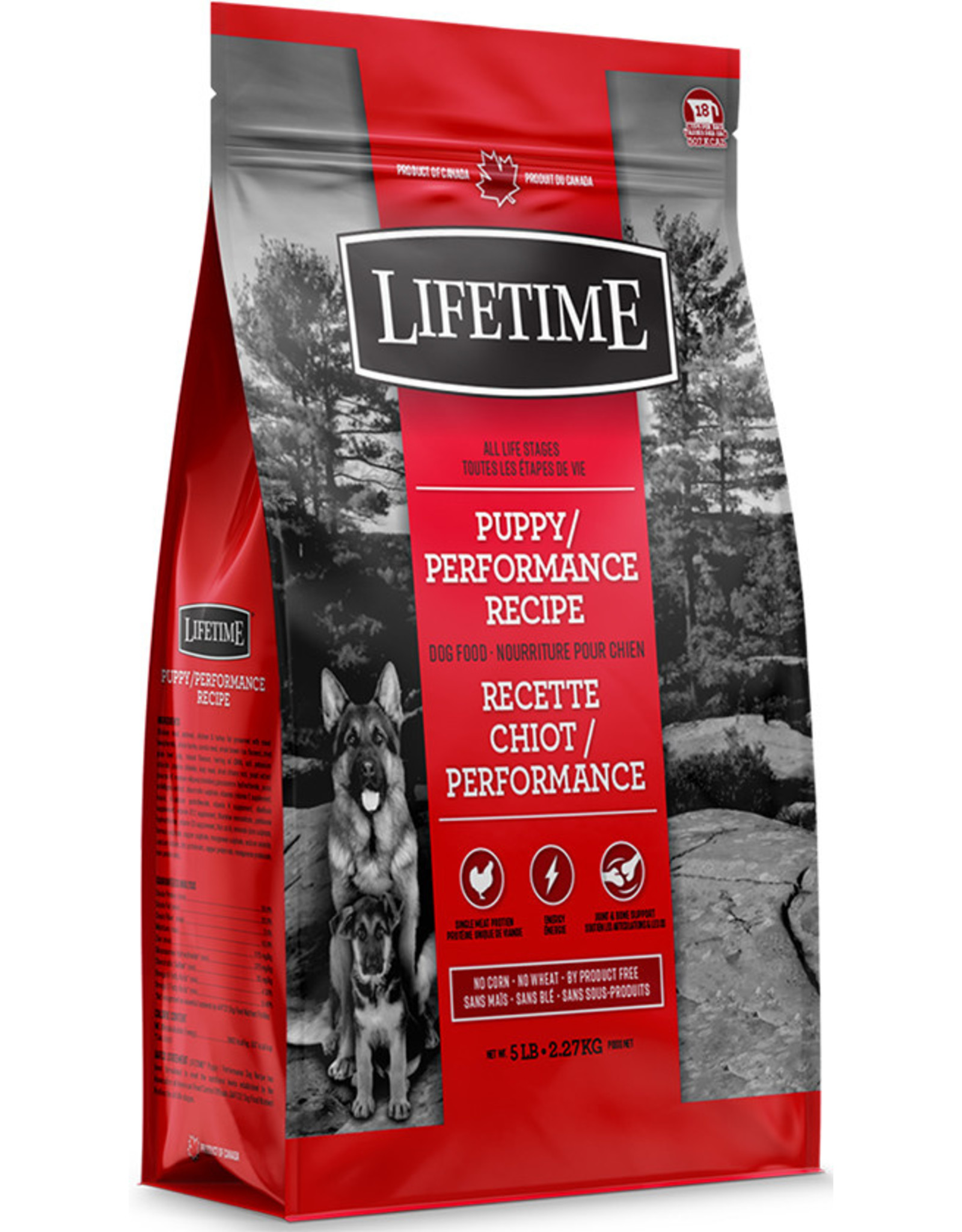 Lifetime Lifetime Puppy/Performance 2.27kg