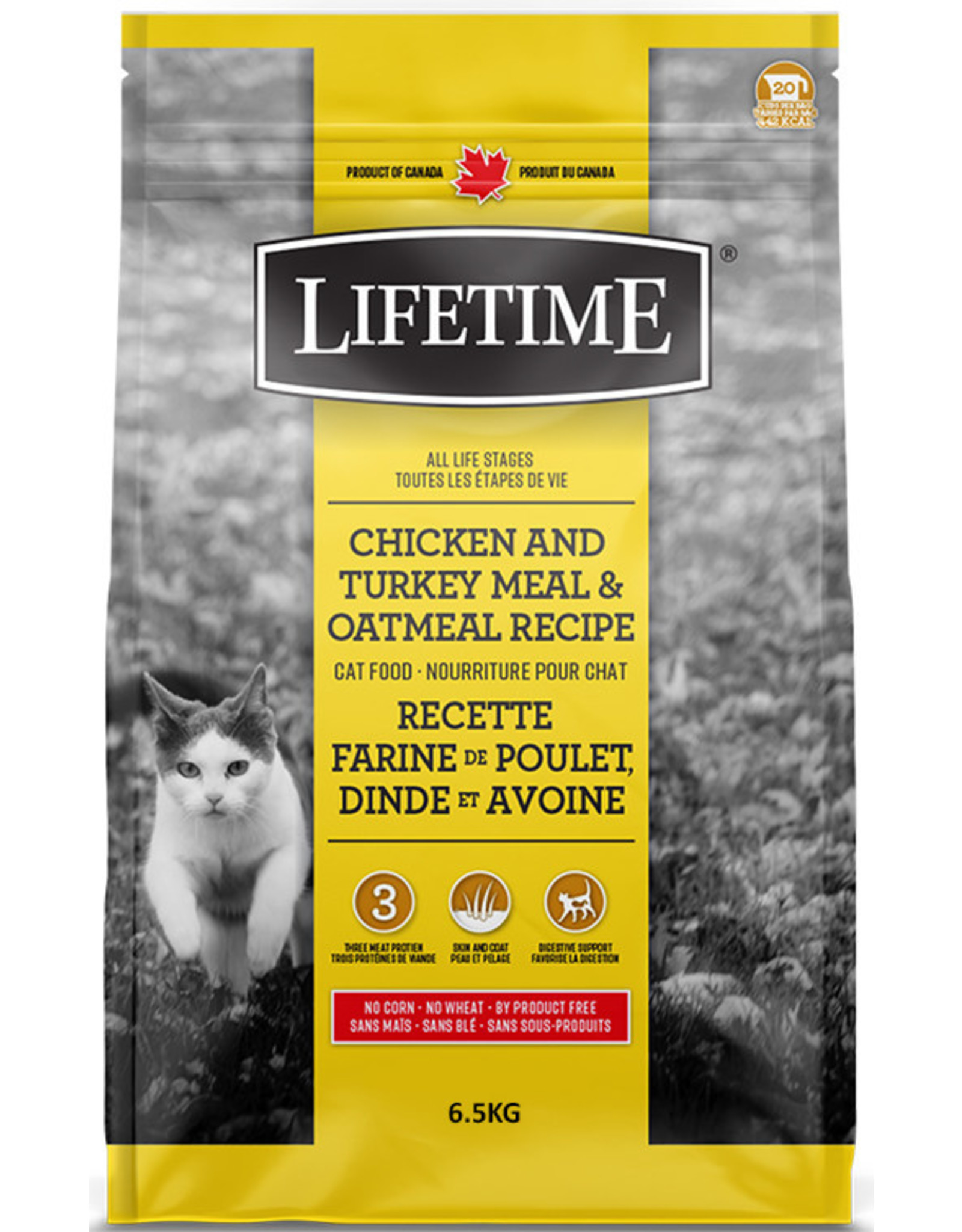 Lifetime Lifetime Chicken, Turkey & Oatmeal Cat 6.5kg