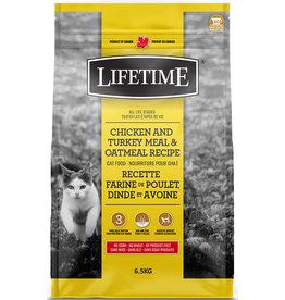 Lifetime Lifetime Chicken, Turkey & Oatmeal Cat 6.5kg