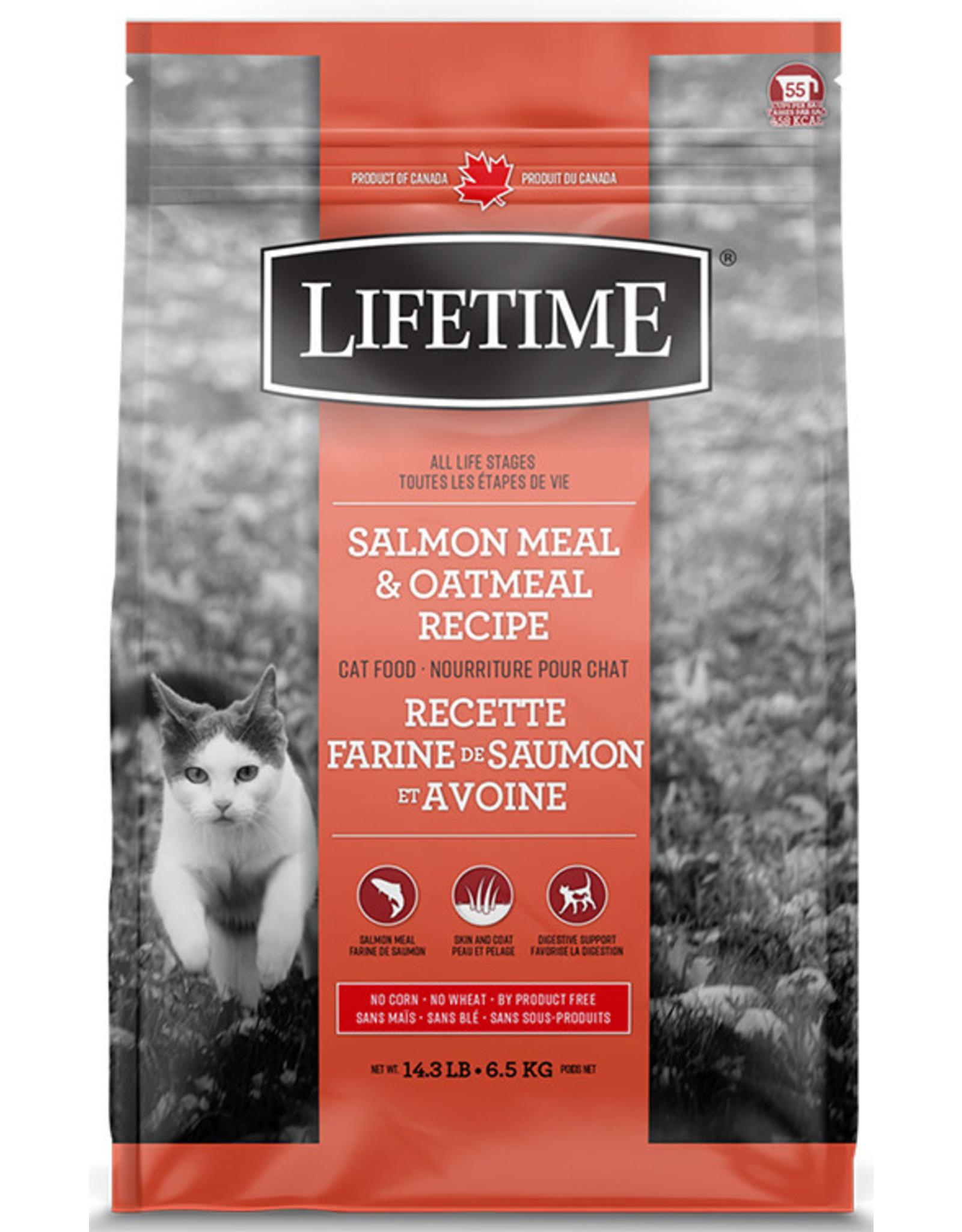 Lifetime Lifetime Salmon & Oatmeal Cat 6.5kg
