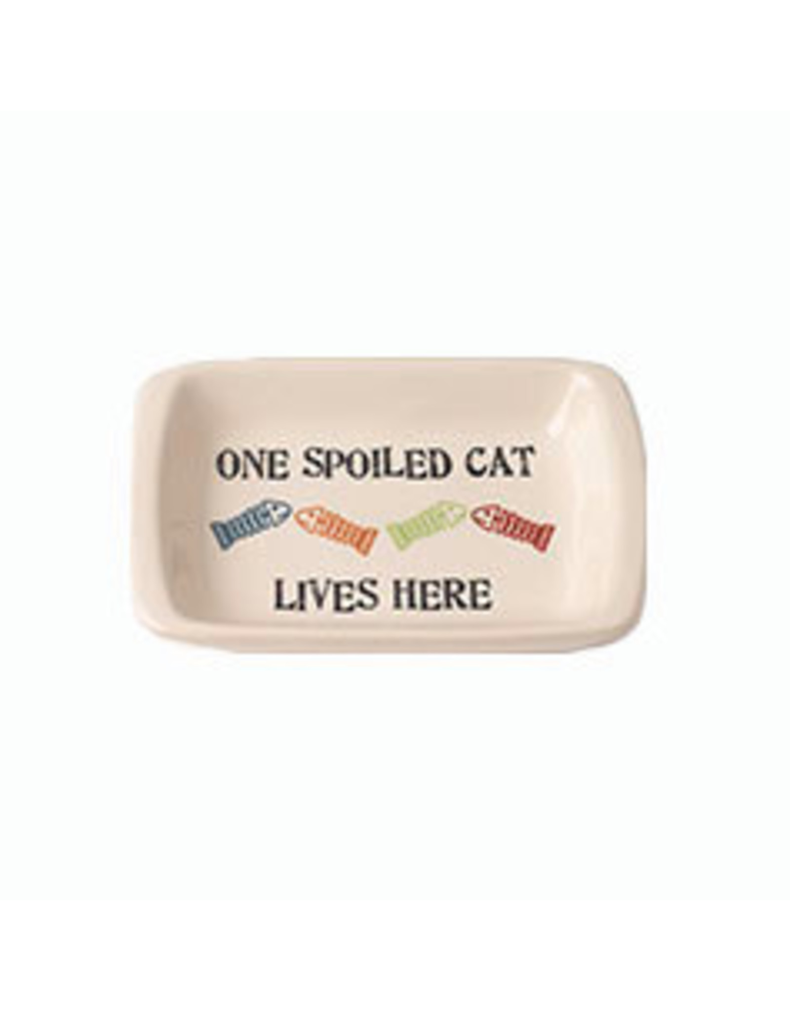 Petrageous One Spoiled Cat Saucer - 2.5oz