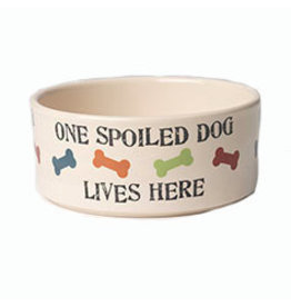 Petrageous One Spoiled Dog Bowl - 5.5 cup