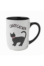 Petrageous Crazy Cat Mom Mug 24oz