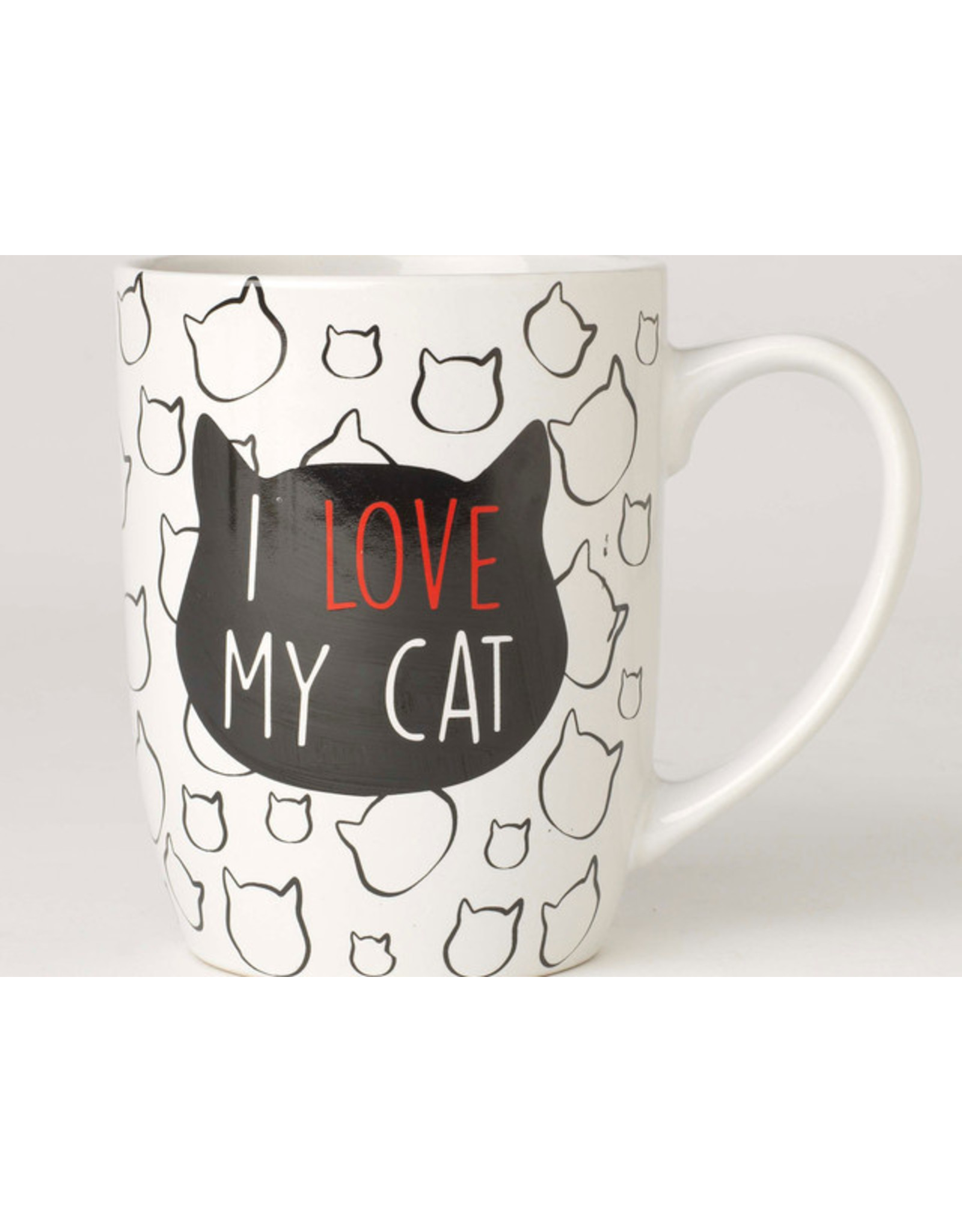 Petrageous I LOVE MY CAT Jumbo 28oz Mug