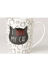 Petrageous I Love My Cat Mug 24oz