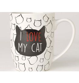 Petrageous I Love My Cat Mug 24oz